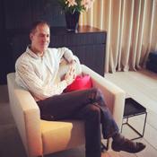 Foto: Marcel Holtslag in zijn stoel